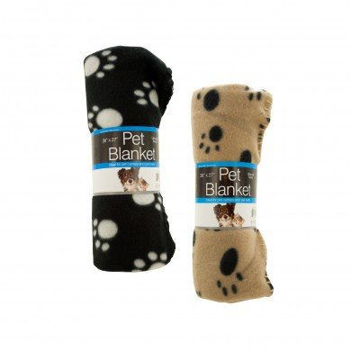 Our Pet Stuff Ultra Soft Fleece Pet Blanket For Cat and Dog Carriers, Beds, Car Seats and Furniture. Assorted Colors 1 Blanket per Order