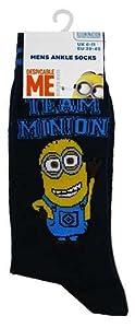 Mens Despicable Me Minions Socks (Team Minion)