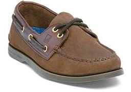 Sperry Top-Sider Men\'s A/O 2 Eye Boat Shoe,Brown/Buck Brown,11.5 W US