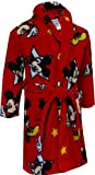 Disney Little Boys' Mickey Mouse Red Bath Robe