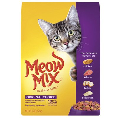 See Meow Mix Original, 6.3-Pound
