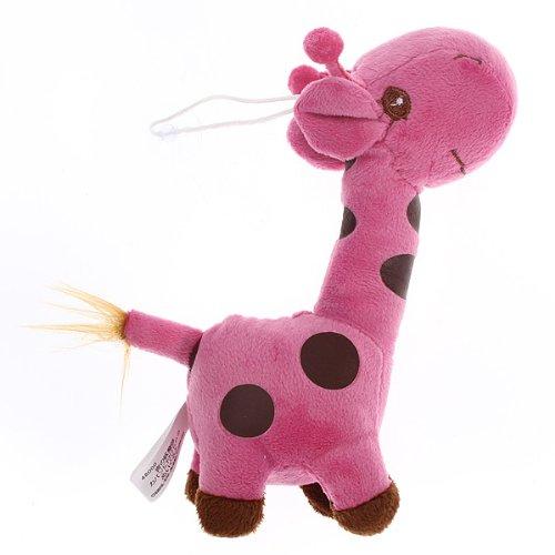 Baby Kid Children Colorful Soft Plush Dear Giraffes Animal Stuffed Doll Toy Gift