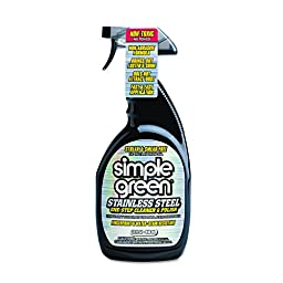 Simple Green 18300 Stainless Steel One-Step Cleaner and Polish, 32oz Trigger Spray