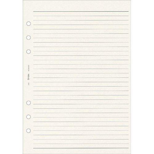 能率 システム手帳 リフィル ケイページ 100枚入 クリーム A5451