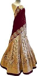 Krishna Emporia Women's Embroidered Lehenga Choli