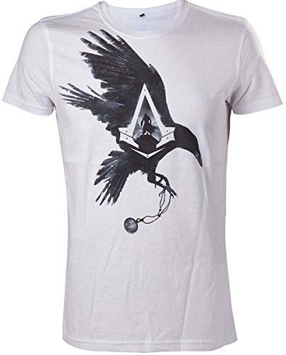assassins-creed-syndicate-crow-t-shirt-bianco-l