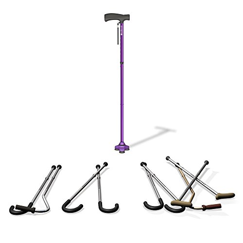 HurryCane – The All-Terrain Cane; Freedom Edition – Pathfinder Purple