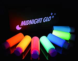 body paint glow kit top rated blacklight reactive fluorescent paint. Black Bedroom Furniture Sets. Home Design Ideas