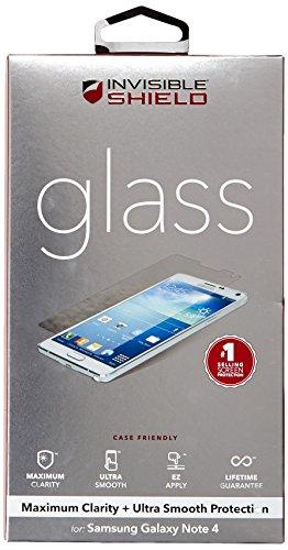 ZAGG InvisibleShield Glass Screen Protector for Samsung Galaxy Note 4 (Zagg Note Edge compare prices)