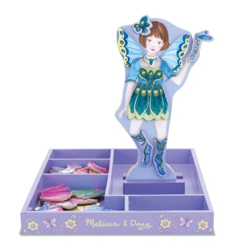 Melissa & Doug Petal Fairy Magnetic Dress Up