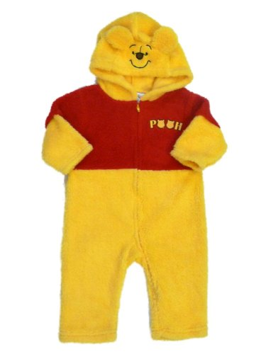 Disney Infant Boys & Girls Plush Sherpa Winnie the Pooh Costume Bear Jumper