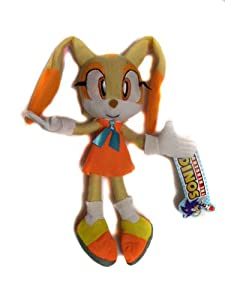 "Amazon.com: Sonic the Hedgehog: Cream the Rabbit 9"" Plush: Toys"