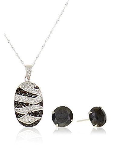 Córdoba Jewels Conjunto de cadena, colgante y pendientes plata de ley 925 milésimas