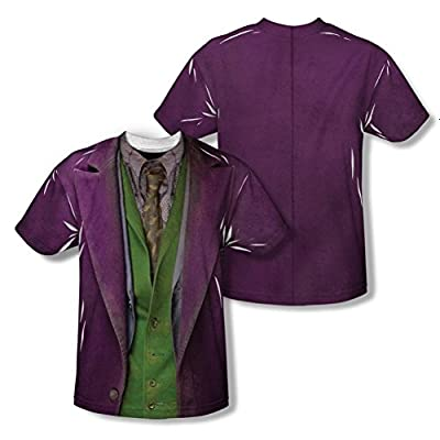 The Dark Knight Joker Costume All Over Print Youth Front / Back T-Shirt