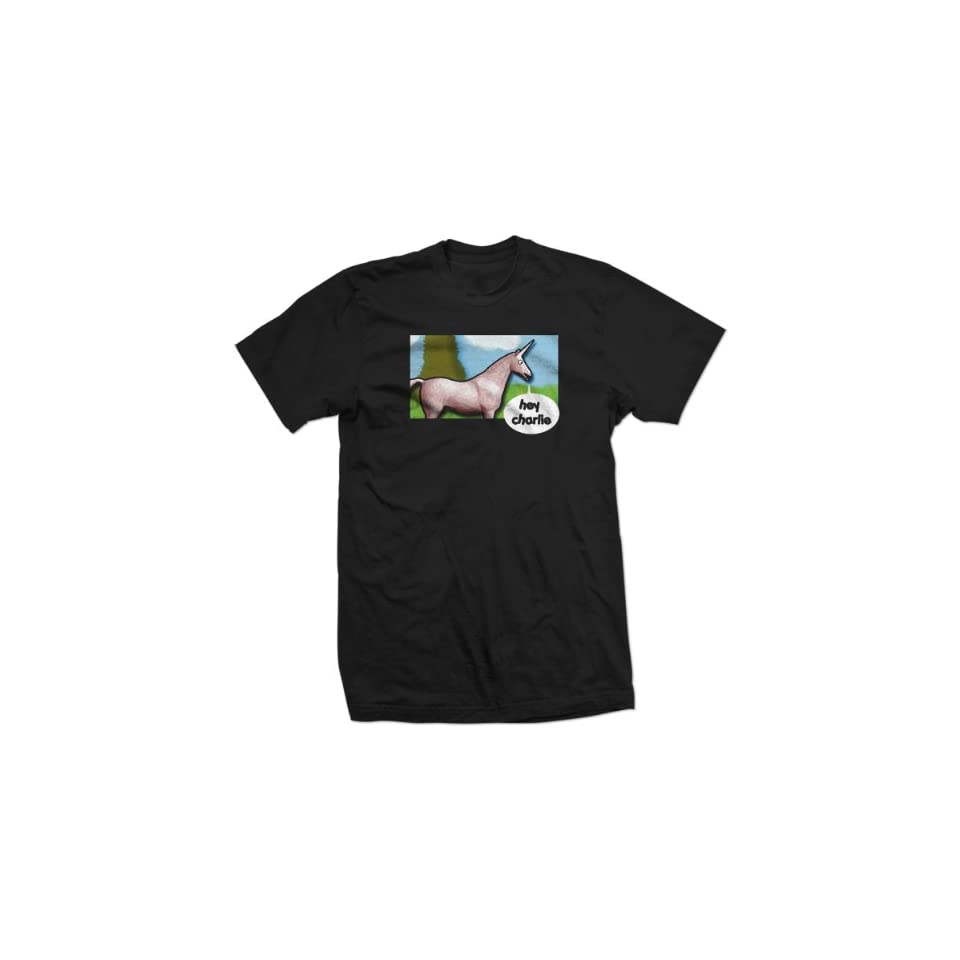 77195f37 HEY CHARLIE UNICORN youtube candy mountain BT SHIRT on PopScreen