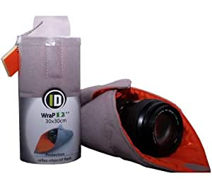 Ideal Solution ID-Wrap12 Carré de protection pour Appareil photo Reflex/Hybride/Compact/Objectif Multicolore