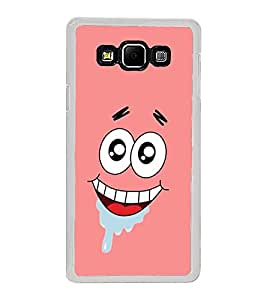 Cool Smiling Cartoon Face 2D Hard Polycarbonate Designer Back Case Cover for Samsung Galaxy A8 (2015 Old Model) :: Samsung Galaxy A8 Duos :: Samsung Galaxy A8 A800F A800Y