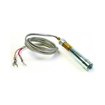 Honeywell Q313A1170 replacement thermopile generator, 750MV, 35inch lead with PG9 adapter