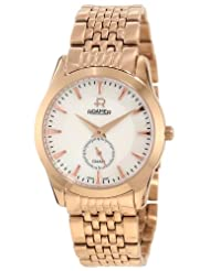 Roamer of Switzerland Women's 938855 49 85 90 Galaxy Mother-Of-Pearl Dial Rose Gold PVD Stainless Steel Watch