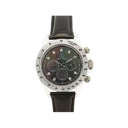 Toy Watch - Mother of Pearl Chrono Collection - Black