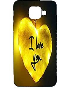 Letz Dezine I Love You Design Printed Mobile Back Case Cover for Samsung Galaxy J5 Prime