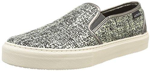 Victoria125039 - Sneaker unisex adulto , Grigio (Gris (Negro)), 38
