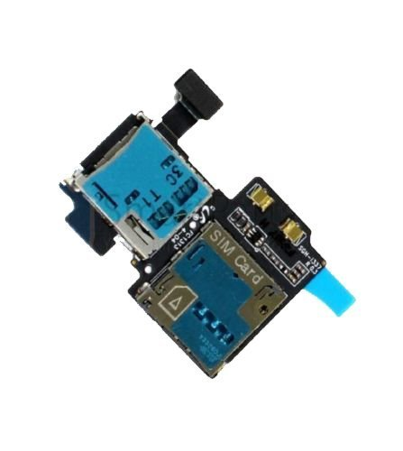 CELL PHONE CITY - Sim SD Card Holder Reader Slot Tray Flex Cable for Samsung Galaxy S4 S IV i337 by CELL PHONE CITY [並行輸入品]