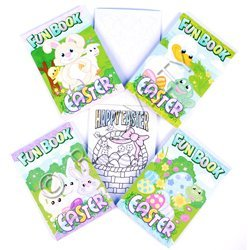 Easter Pocket Size Activity Books (Box of 72 Books) - 1