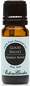 Good Night Synergy Blend Essential Oil- 10 ml (Comparable to DoTerra's Serenity & Young Living's Peace & Calming Blend)