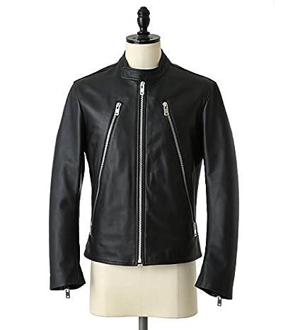 Maison Margiela(メゾン マルジェラ) Leathre Riders Jacket(レザー ジャケット ブルゾン アウター) 44 ブラック