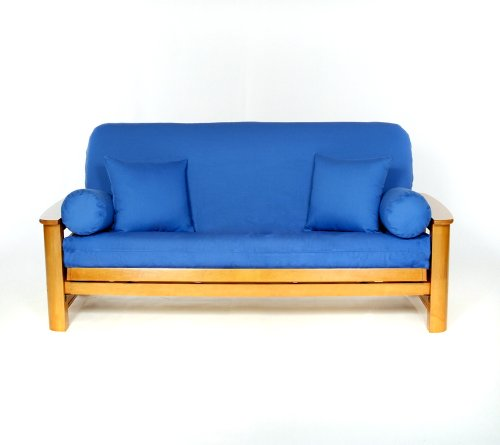 Lifestyle Covers Cobalt Full Size Futon Cover front-403524