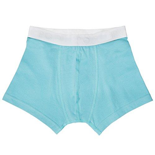 Polarn O. Pyret Little Boys' Logo Eco Boxer Shorts (2-6 Yrs) - 2-4 Years/Zircon front-948885