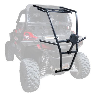 Tusk UTV Rear Bumper, Cargo Rack, and Spare Tire Carrier - Fits: Polaris RZR S 900 2015-2016 (Rzr 900 Rear Cage compare prices)