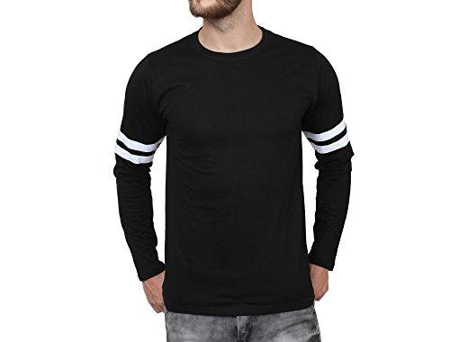 SayItLoud-Mens-Solid-Black-Full-slevee-Tshirt