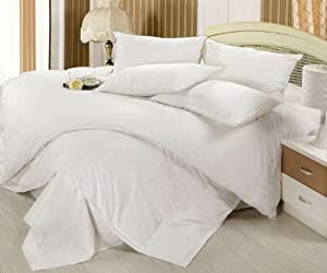 Gracy Bedding Collection Egyptian Blue Solid 1000TC Organic Cotton All US Size