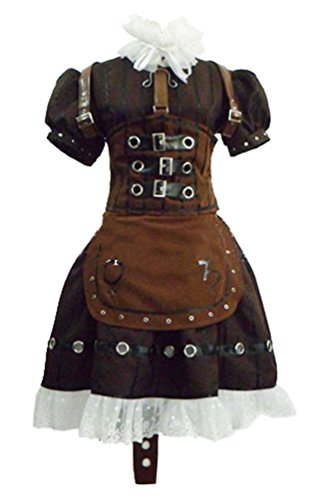 Alice Madness Returns Dress Deluxe Apron Steam Cosplay Costume