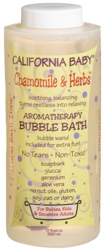 California Baby Bubble Bath - Chamomile & Herbs, 13 oz - 1
