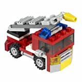 Delightful LEGO Creator Mini Fire Rescue (6911) - Cleva Edition LEGO'BAG Bundle