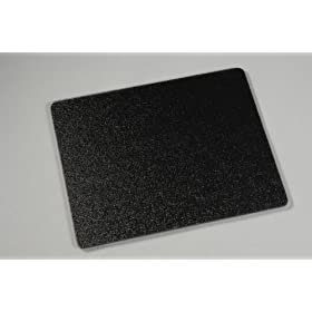 Black Tempered Glass Cutting Board