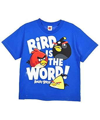 Angry Birds Bird Is The Word Youth T-shirt L