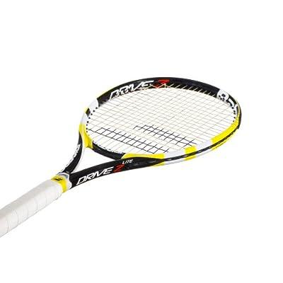 Babolat 101180-113 Drive Z Lite Unstrung Tennis Racquet, 4 3/8 (Yellow)