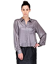Yepme Women's Grey Tops YPMTOPS0615_L