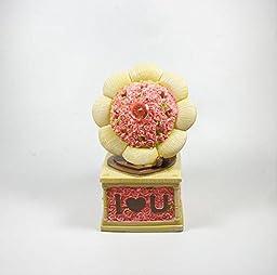 YONG Gramophone piggy creative resin piggy bank
