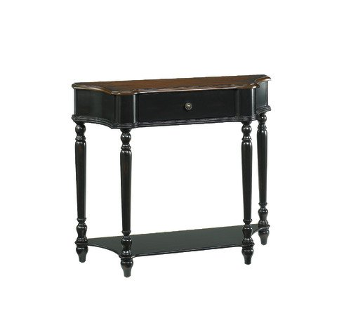 Cheap Hidden Treasures Black/brown Console Table (090-350)