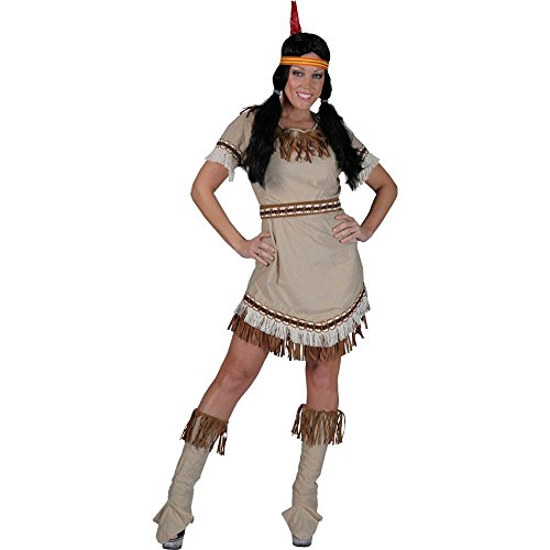 Running Bear Indian Squaw Adult Costume