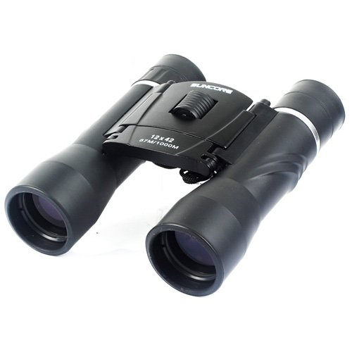 12*42 Binocular Telescope Low Light Night Vision Sports Hunting Camping Survival Kit