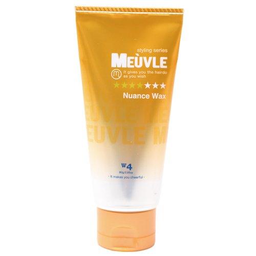 MEUVLE ( ミューヴル ) ニュアンスワックス W4   ミューブル(オレンジ)