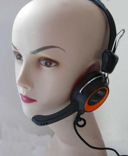 Headset Headphone Kopfhörer für Skype PC von Soytich (Headset)