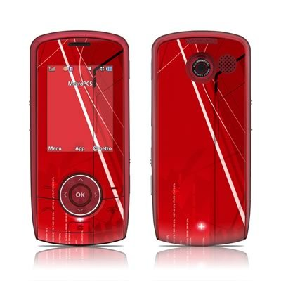 Scarlet Tech Design Protector Skin Decal Sticker for LG Lyric LX370 UX370 MT375 Cell Phone