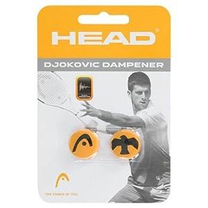 Buy Head Djokovic Vibration Dampener, Orange Black by HEAD